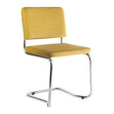 Vicente Donat - Belmond Modern Office Chair, Yellow - Office Chairs