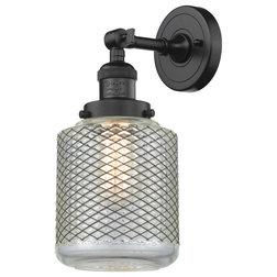 Industrial Bathroom Vanity Lighting by Buildcom