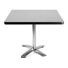 "Ofm 42"" Square Flip-Top Multi-Purpose Table, Gray Nebula"
