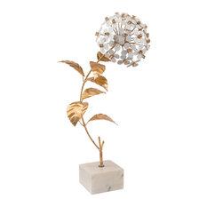 John Richard Hydrangea, Gold and White