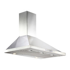 """Ducted/Ductless Stainless Steel Range Hood, 36"""""""