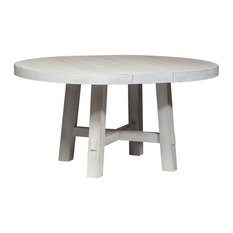 Liberty Furniture Modern Farmhouse White Round Table Set
