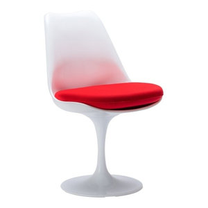 Poly and Bark Daisy Side Chair, Red