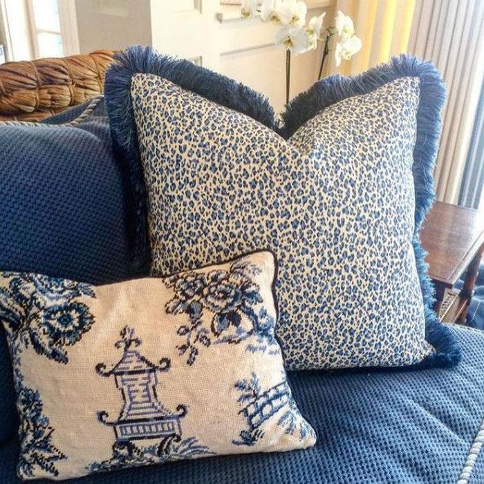 Laura Boyd Interior Design | Annapolis Maryland Living Room Refresh