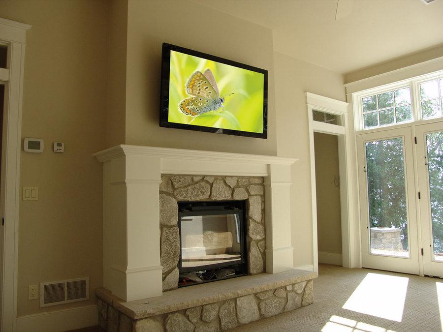 Master Bedroom Television Installation