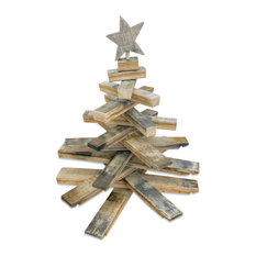 Bourbon Barrel Stave Mini Christmas Tree