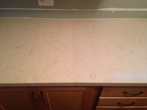 Quartz countertop color variation from home depot  Can I return?
