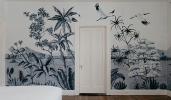 Monument Ave. Tropical Wallpaper mural