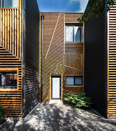Современный  by Pominchuk Architects