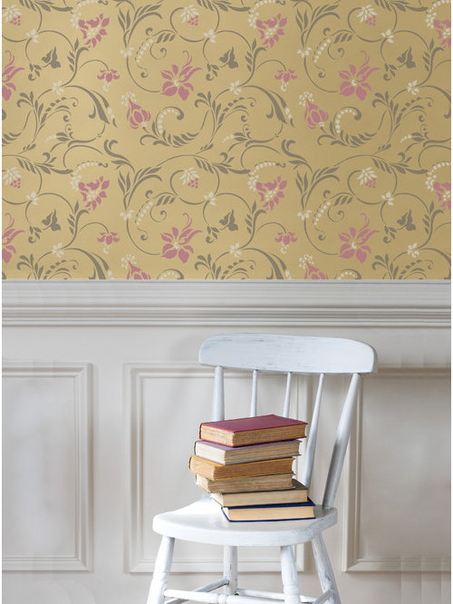 Stencils and Patterns for Painting Walls & Furniture