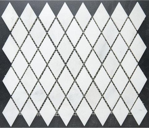 "1"" Diamond aka ""Rhomboid"" Mosaic - Tile"