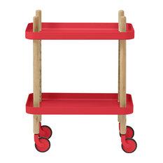 Normann Copenhagen Block Table, Red