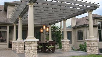 Michigan patio and heated pergola - Solaira Patio Heater