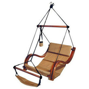 Hammaka Hammocks Nami Hanging Lounge Chair , Natural Tan