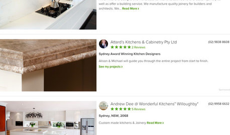 Pro Corner: Move up on Houzz With Professional Reviews