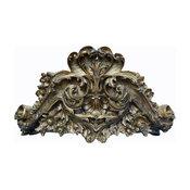 Lille Bed Crown, Antique Gold, Antique Gold