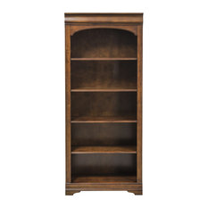 Liberty Furniture Chateau Valley Bunching Bookcase, Brown Cherry