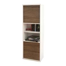 Nexera - Eco-friendly 2-Door Bookcase - Bookcases