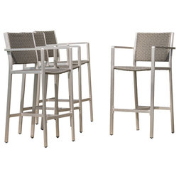 Contemporary Outdoor Bar Stools And Counter Stools by GDFStudio
