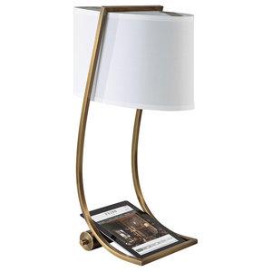 Lex Table Lamp, Bali Brass