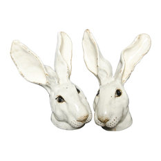 Hector Rabbit Salt and Pepper Shakers