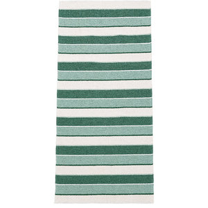 Tore Vinyl Floor Cloth, Green, 150x200 cm