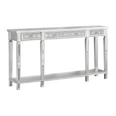 Monterey Silver Rectangular Sofa Table