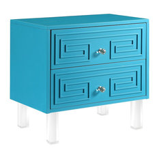 turquoise bedroom furniture. Inspired Home  Shirin Greek Key Lacquer Finish Lucite Leg Side Table Turquoise Bedroom Furniture Houzz