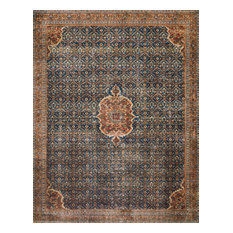 "Cobalt Blue Spice Printed Polyester Layla Area Rug by Loloi II, 3'-6""x5'-6"""