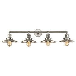 Industrial Bathroom Vanity Lighting by ELK Group International