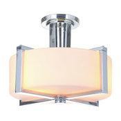 Albany 3-Light Semi Flush, Chrome by Craftmade
