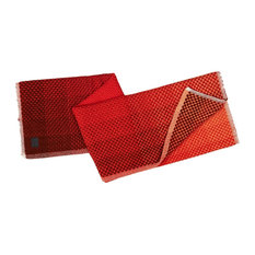 Gradient Wool Throw, Red