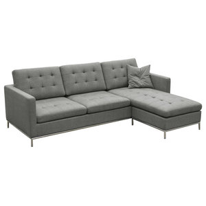 Nolan Sectional Contemporary Sectional Sofas By Pangea Home