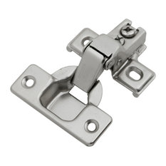 """Belwith Hickory Bright Nickel Concealed Face Frame with 1/2 """" Overlay P5124-14"""