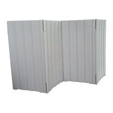"Quiet Fence LLC - Quiet Fence, Neutral, 48""x43"", 2-Piece Set - Outdoor Products"