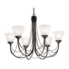 Carlsbrooke Chandelier, 6 Lights