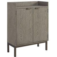 Universal Furniture Spaces Bar Cabinet, Granite