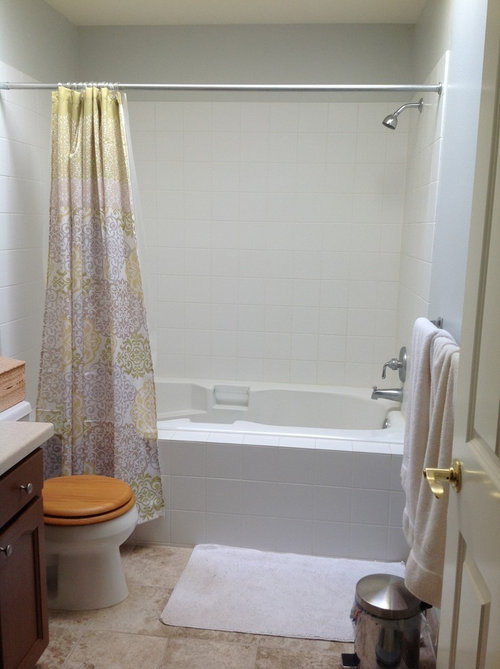 Shower: doors or curtain? on black and white bathroom shower curtains, houzz home design, houzz shower tile design, bathroom shower curtains and window curtains, contemporary bathroom shower curtains, rustic bathroom shower curtains,