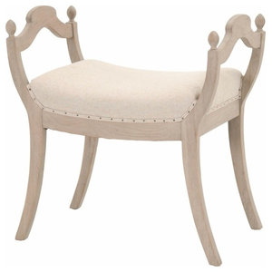 Phenomenal Fancy Stool Transitional Vanity Stools And Benches By Ibusinesslaw Wood Chair Design Ideas Ibusinesslaworg