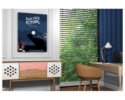 Tableau musicien de jazz - Imprimé et Poster