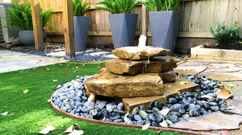 Custom Flagstone Water Feature
