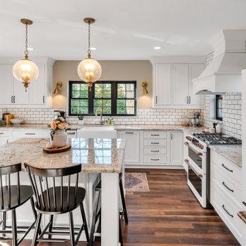 Charming White Inset Kitchen
