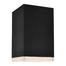 Avenue Lighting AV9888-BLK Outdoor Wall Sconce Black Aluminum/Acrylic Signature