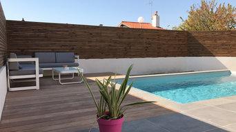 Aménagement clôture, terrasse