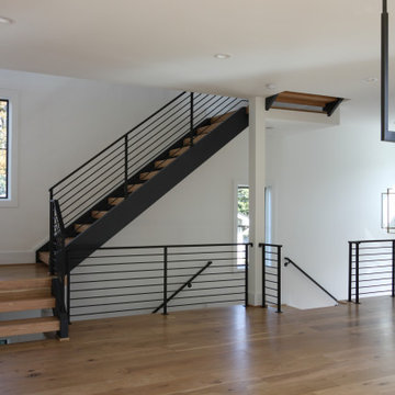 85_Sleek Three-Quarter Turn Multilevel-Staircase, McLean VA 22101
