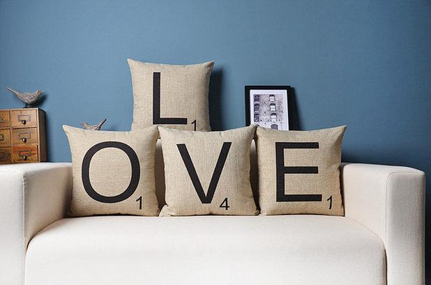 buchstabensuppe dekorieren mit lettern und zitaten. Black Bedroom Furniture Sets. Home Design Ideas