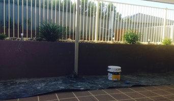 Rendering Retaining walls