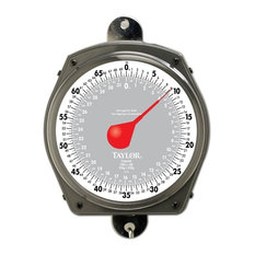Taylor Industrial Hanging Dial Scale, 70 lb.