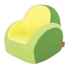 Great Dwinguler   Dwinguler Kidu0027s Sofa, Lime Green   Kids Sofas