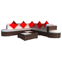 Tropical Outdoor Lounge Sets by vidaXL